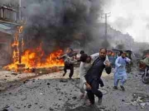Horror: At Least 14 People Dead In Suicide Attack Outside Political Gathering